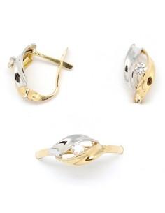 687b8a97d5cf Juego de pendientes y anillo para niña de comunión