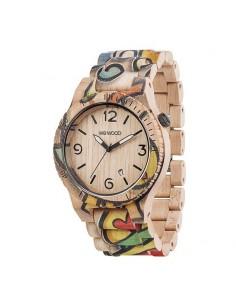 f4d1f2ca0757 Reloj para hombre elaborado en madera de bambú - Joyería y Relojería ...
