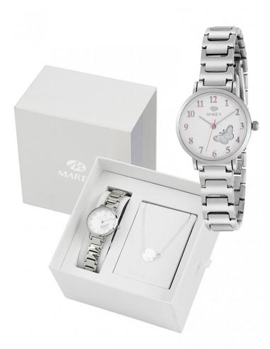 4b247a75037e Reloj de niña de comunión con pulsera de plata de regalo. - Joyería ...