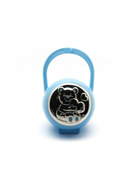 Chupete azul oso